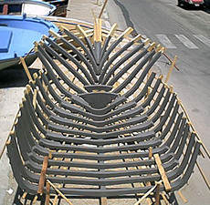 Barca in legno for Barchetta da pesca